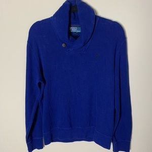 Polo by Ralph Lauren Men's Blue Sweater Size Small